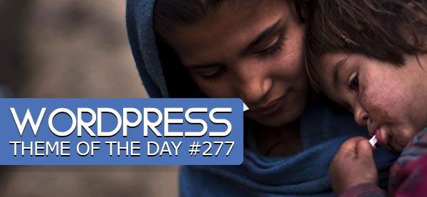 Charity : Responsive WordPress Theme