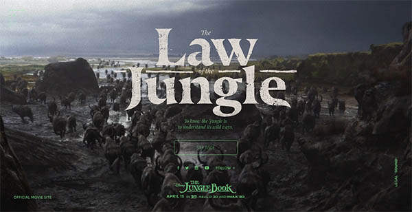 The Law of the Jungle By Watson/DG