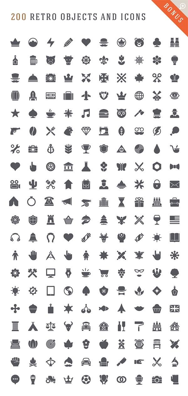 700 Retro Vintage Logotypes and Badges - 6