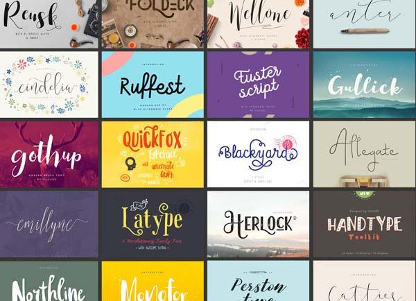 33 Free Stylish Fonts for Designers