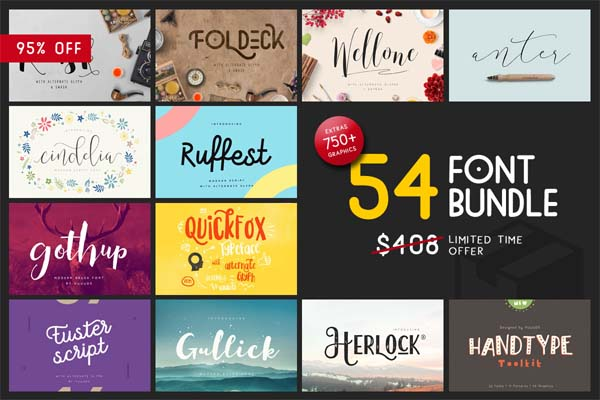 Free Stylish Fonts for Designers - 1