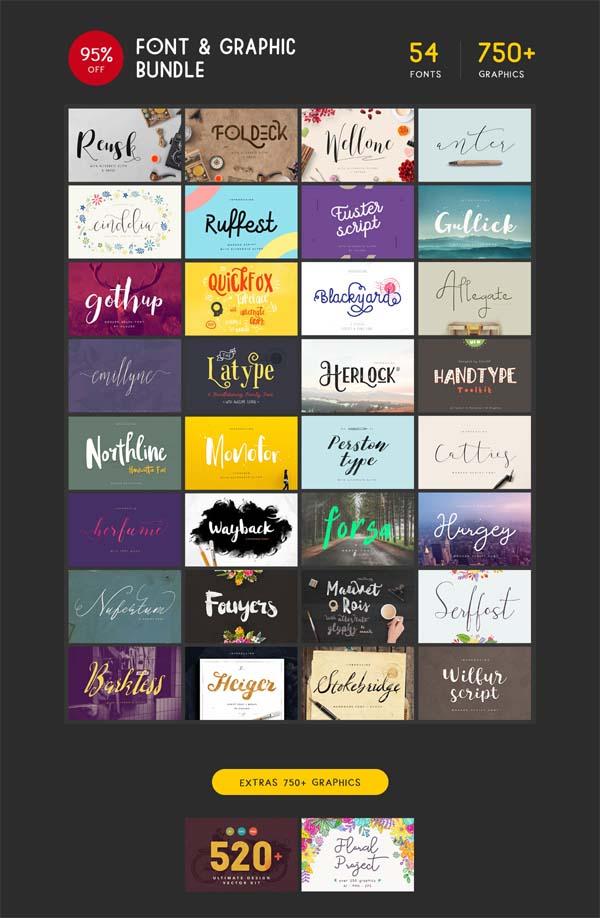Free Stylish Fonts for Designers - 2
