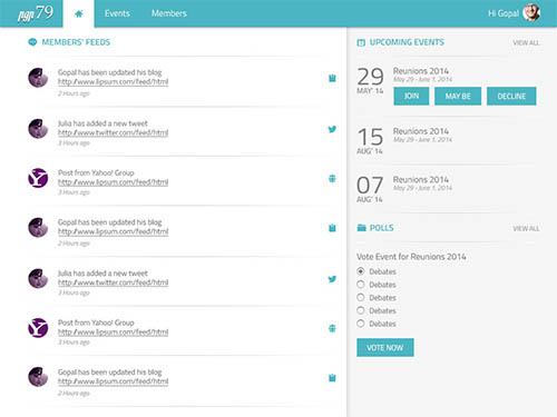 Event Management IIM Alumini Web Application By Cibi Abiram