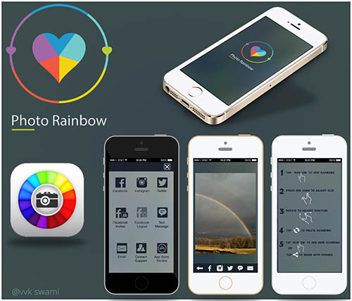 Photo Rainbow App By vvk swami
