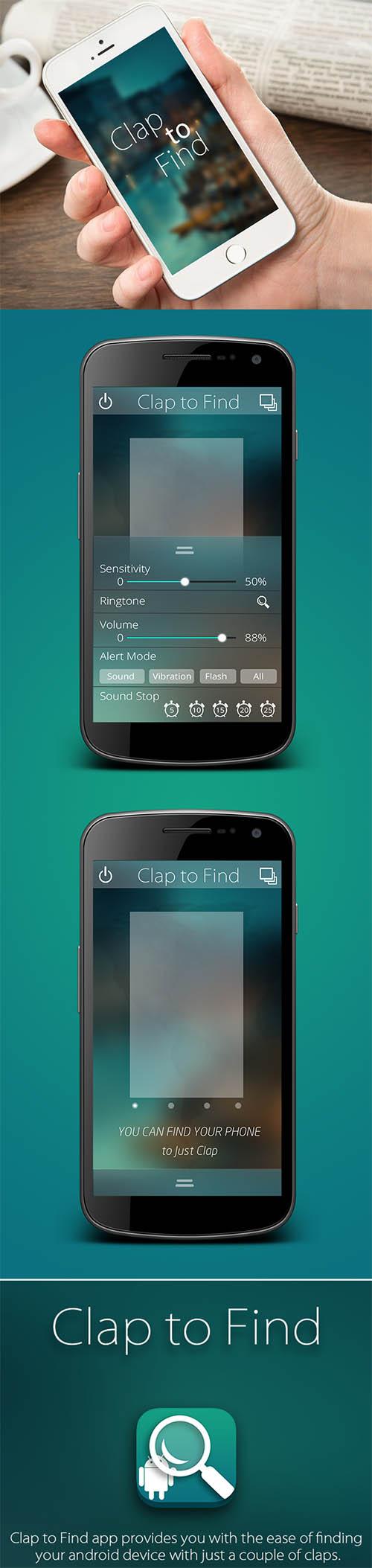 App_Design_Android_Clap_to_Find_vvk By vvk swami