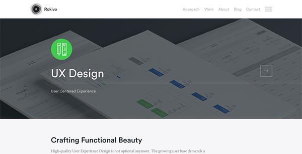 Fresh Flat Website Designs – 15