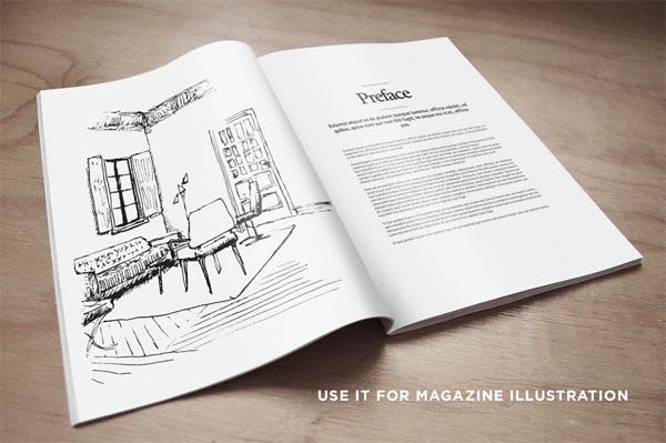 55 Fonts, Vectors and Badges Bundle for Designers - 33