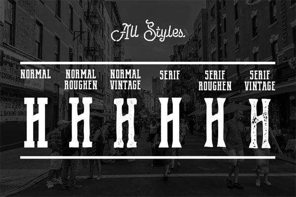 55 Fonts, Vectors and Badges Bundle for Designers - 35