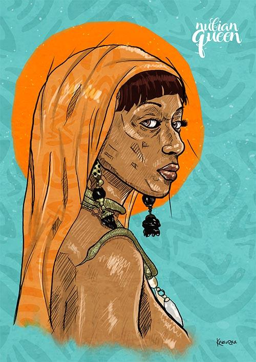 Nubian Queen By kabelo ntuli
