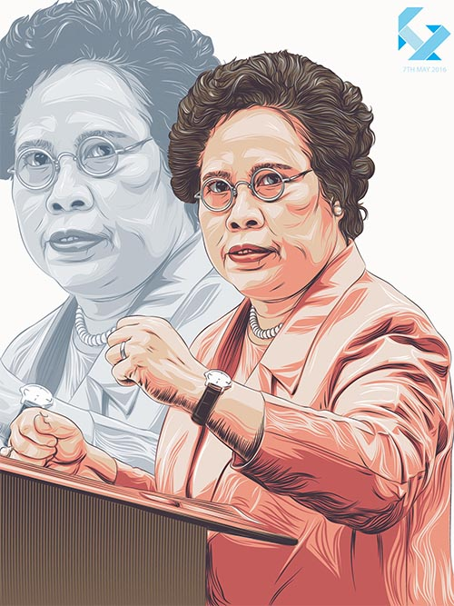 Miriam Defensor Santiago By Jireh Ber Villafuerte