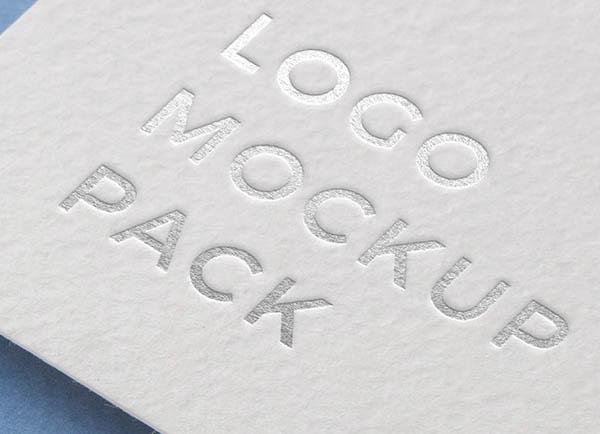 Logo Mockup Pack. Paper Edition