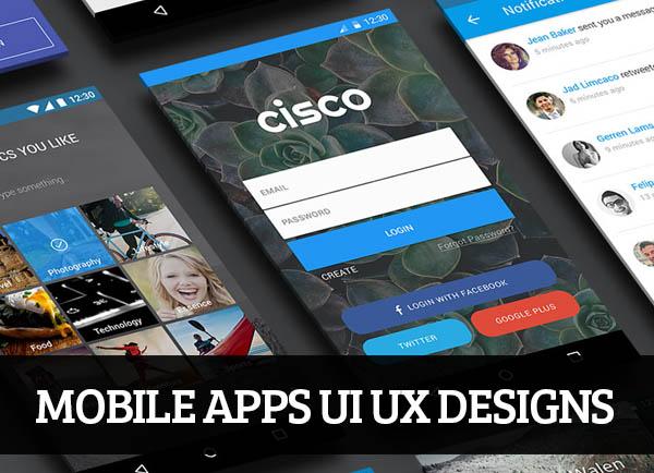 Web & Mobile UI UX Designs for Inspiration – 100