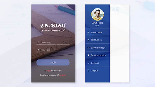 Student app By Zubin Charles