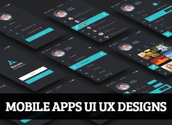 Mobile Apps UI UX Designs for Inspiration – 103