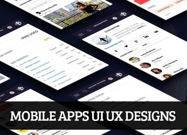 Mobile Apps UI UX Designs for Inspiration – 104