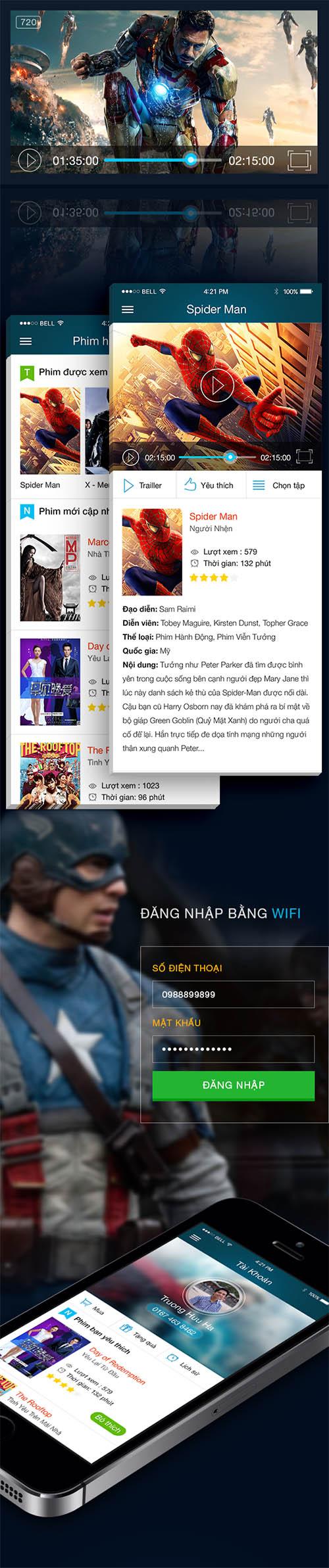 MePhim - Film App By Ha Truong
