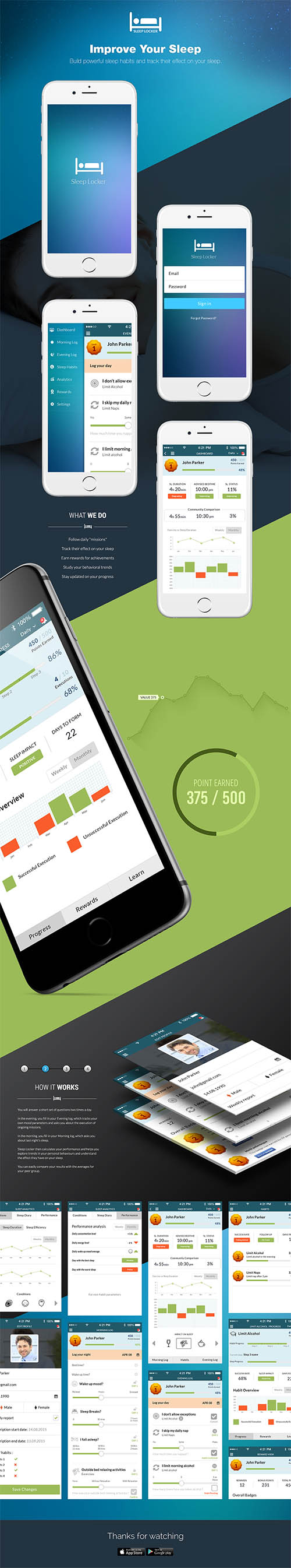 Sleep Tracking App By Chanchal Pramanik