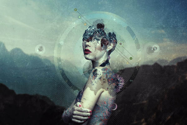 Create an Abstract Portrait Photo Manipulation With Adobe Photoshop