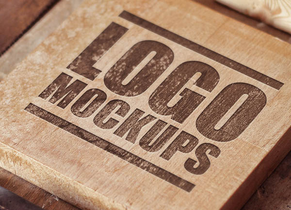 Quality Mockups Perspective Logo,Badge,Font