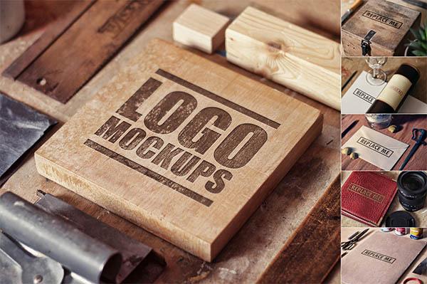 Quality Mockups Perspective Logo,Badge,Font - 1