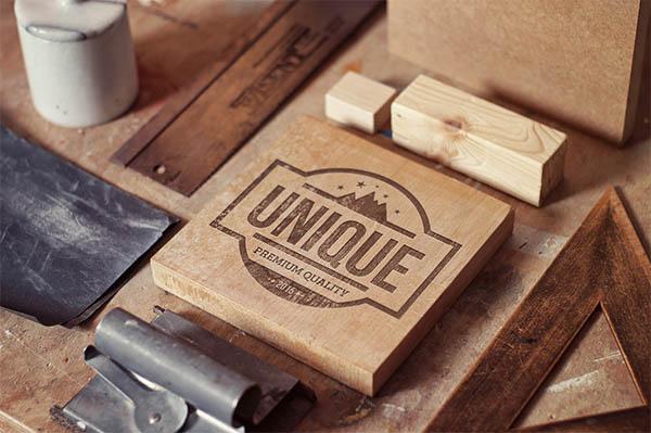 Quality Mockups Perspective Logo,Badge,Font - 8