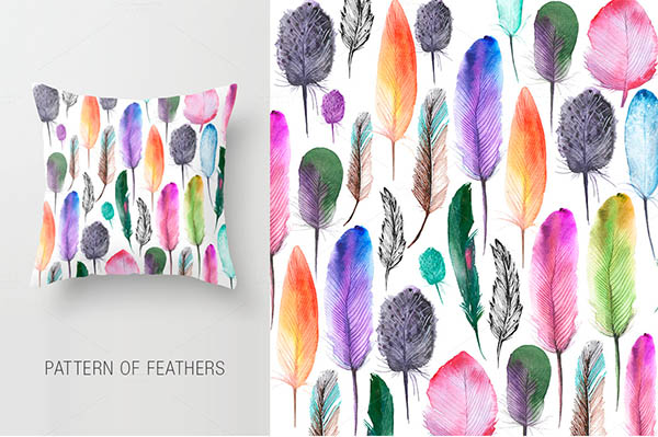 Watercolor Floral Elements for Graphic Designers - 19