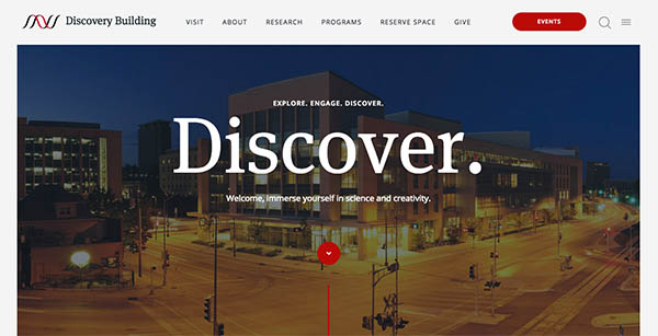 Discovery Building By Coulee Creative