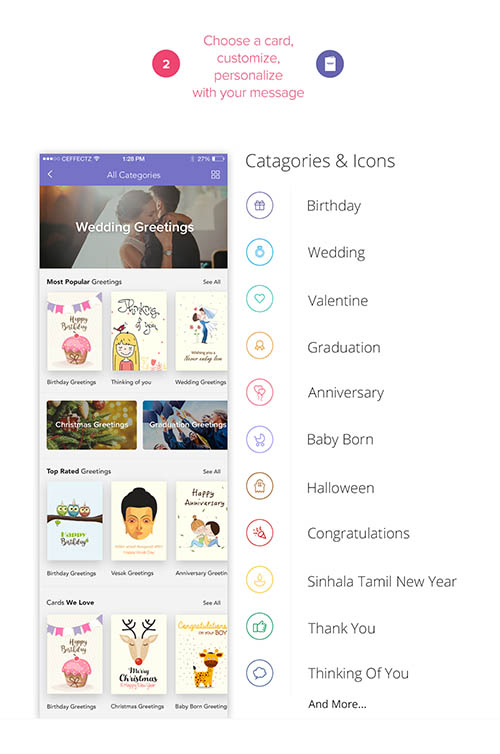 GreetlyApp™ - Most Personalized Greeting App Ever By ceffectz Designs