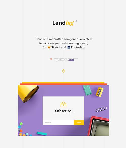 Free UI Kit | Landing By Multiple Owners