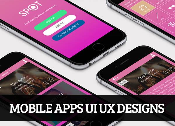 Mobile Apps UI UX Designs for Inspiration – 111