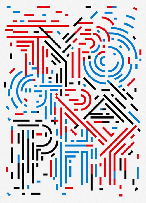 Typography by Sasaki Shun