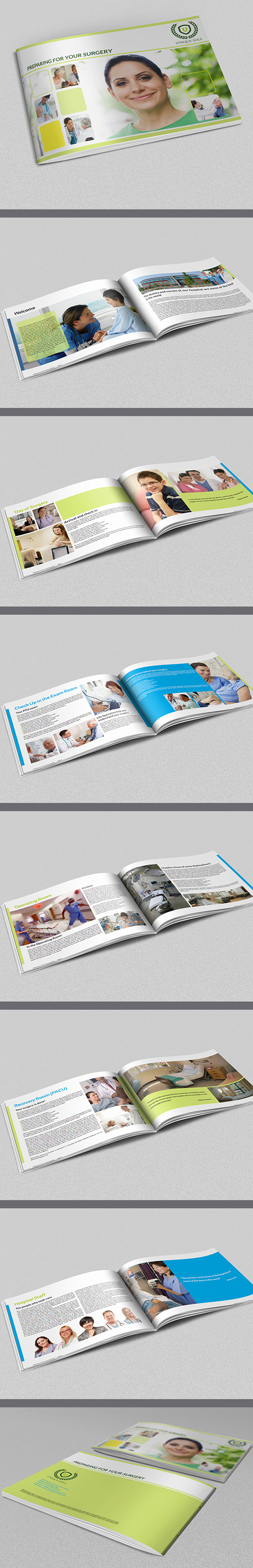 Preparing for Your Surgery Brochure Template
