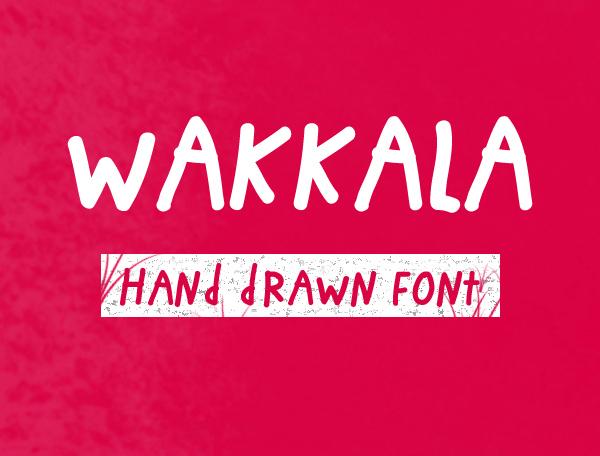 Wakkala Free Font