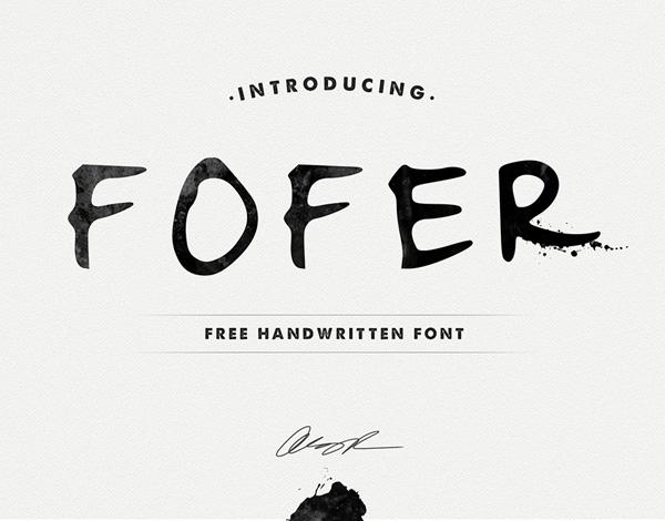 Fofer Free Font