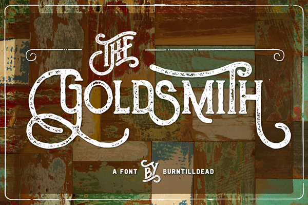 The Goldsmith Vintage Free Font