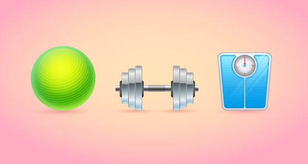 How to Create a Set of Fitness Icons in Adobe Illustrator