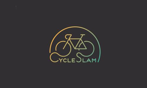 Cycle Slam Logo by Dan Dragomir