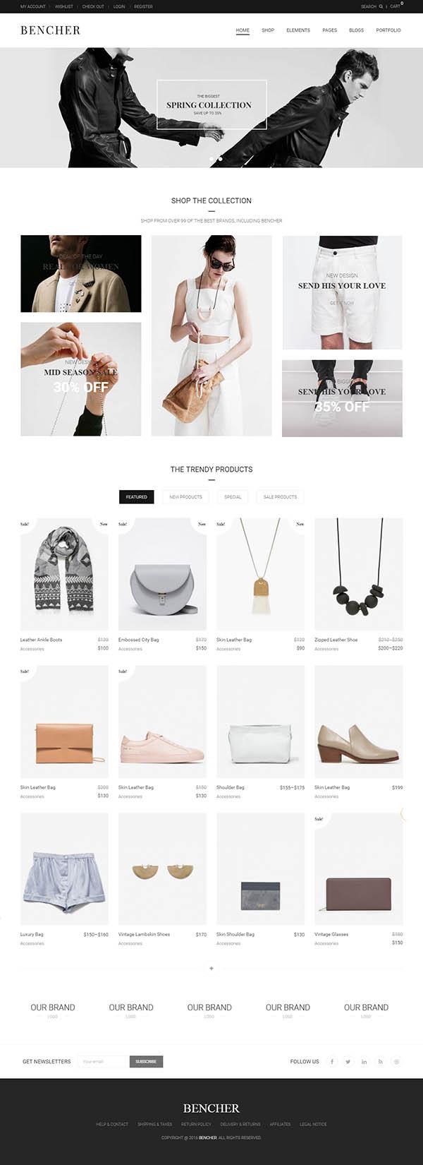Bencher – Responsive WooCommerce WordPress Theme