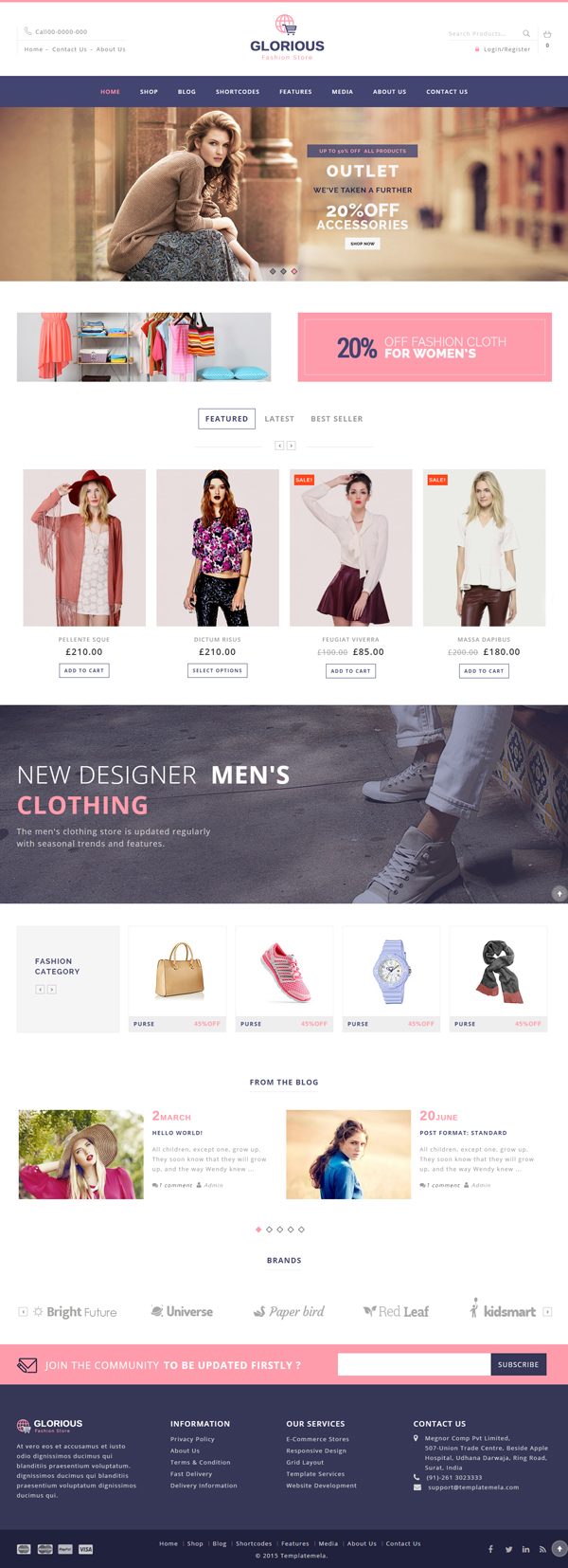 Glorious – WooCommerce Responsive Theme