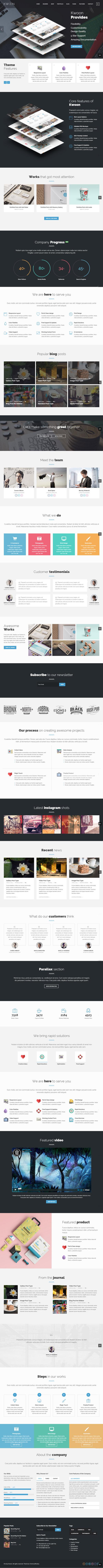 Kwoon – Multipurpose WordPress Theme