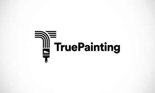 True Painting Logo Concept by Derrick Kempf