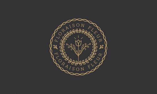 Floraison Fleur Logo by Mat Voyce