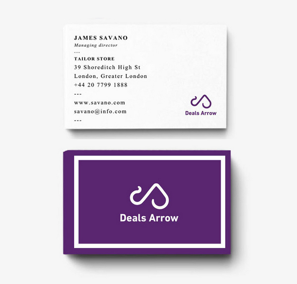 Deals Arrow-Brand Identity by Balaji Kannan