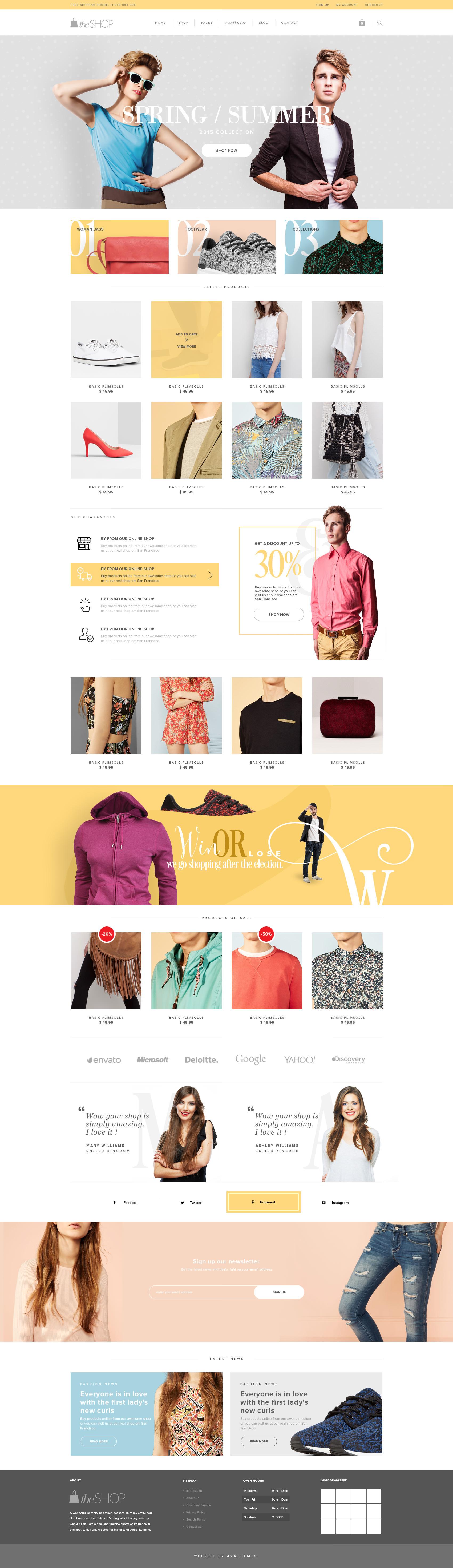 theShop – Retina Responsive WordPress Shop Theme
