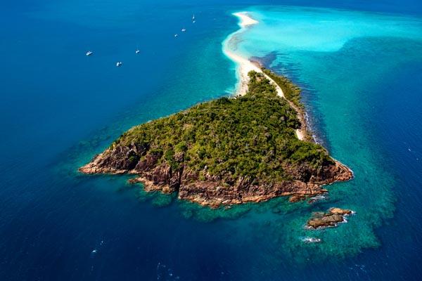 Langford Island Aerial