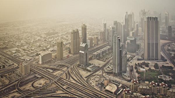 Hazy Dubai
