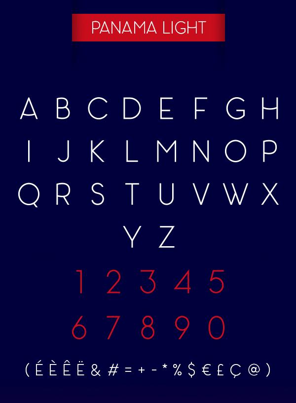 Panama Free Font