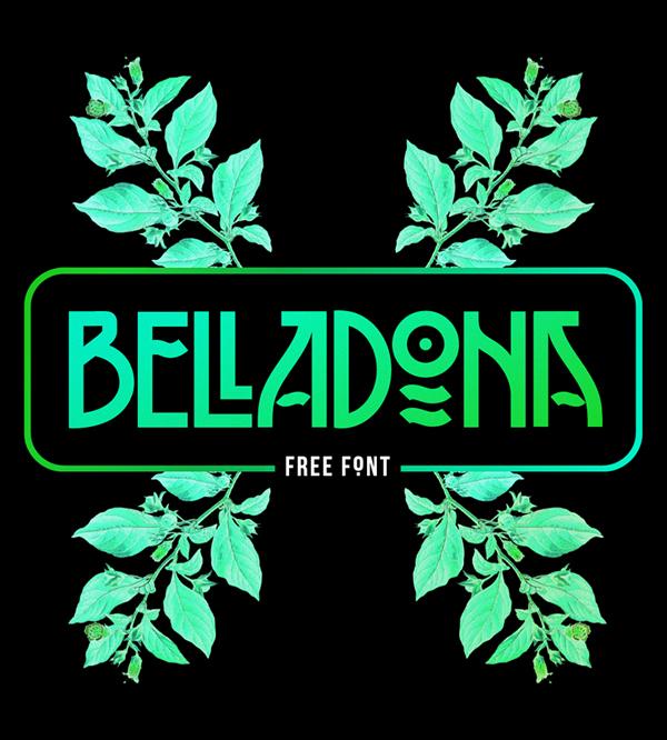 BELLADONA Free Font