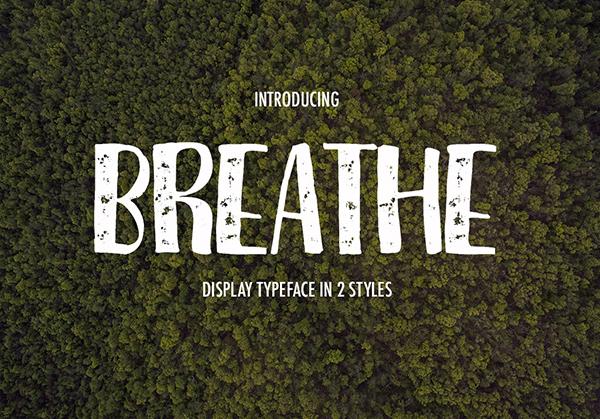 Breathe Free Font