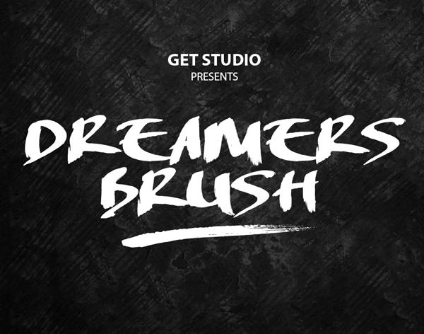 Dreamers Brush Free Font